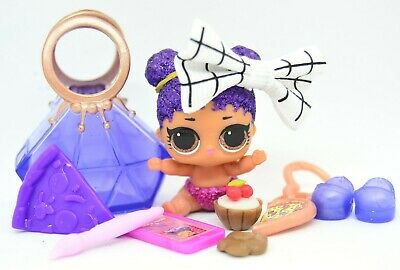 LOL Surprise AUTHENTIC Big Surprise Lil Purple Queen Glitter Doll