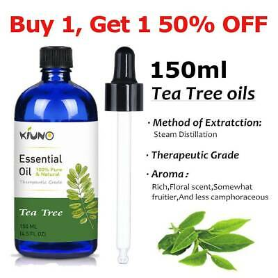 Tea Tree Essential Oil Certified 100% Pure & Natural 5ml to 150ml Essential Oils