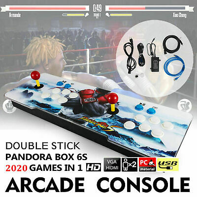 New 2020 in 1 Pandora's Box 6S Video Games Double Stick Arcade Console USA
