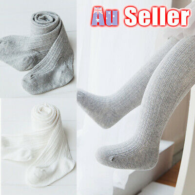Pantyhose Cotton Stockings Girls Warm Tights Toddler Infant Socks 0-8Y Baby Kids
