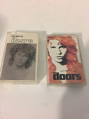 The Best Of The Doors Cassettes  An Olive Stone Film The Doors Sound Track