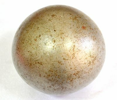 1850's  Antique hand forged cannon ball heavy weight