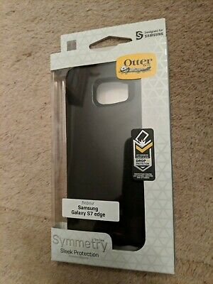 OtterBox Symmetry Series Case Cover for Samsung Galaxy S7 Edge Black Ultra Slim