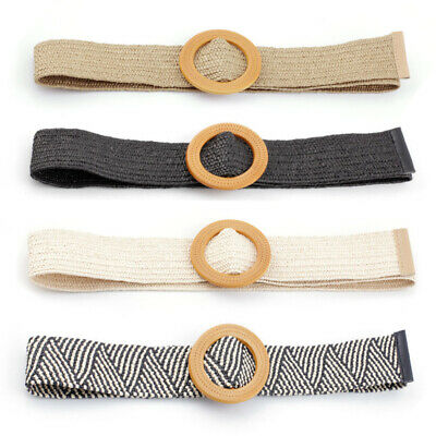 Woven Canvas Waistband Braided Waist Belt Unisex Webbing Strap Women Casual Girl