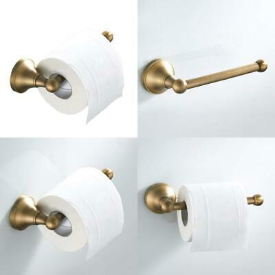 Toilet Roll Holder Without Cover Antique Brass Bathroom Paper Tissue Bar Wall