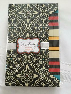 Vera Bradley Day by Day 3 Journal Set Barcelona NIP RETIRED RARE