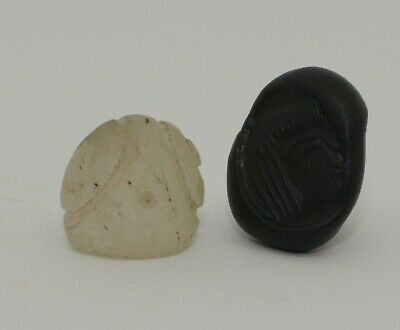 Superb Quality Ancient Carved Rock Crystal Seal - Circa 500Bc  - 004