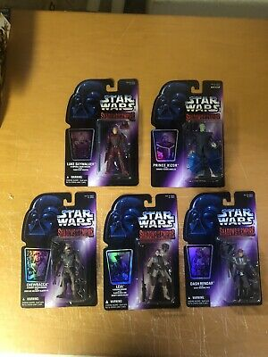 Kenner Star Wars Shadows Of The Empire MOC 5 Figure Lot Complete