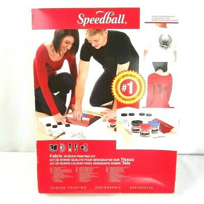 Cool Gift Speedball Fabric Screen Printing Kit Craft Gift