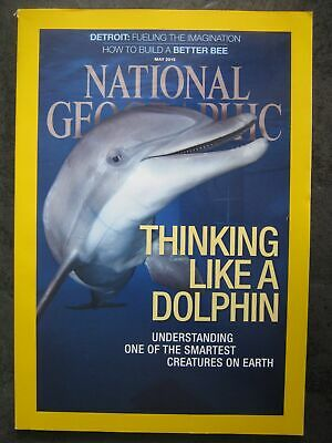 National Geographic magazine May 2015 Understanding Dolphin Bees Detroit