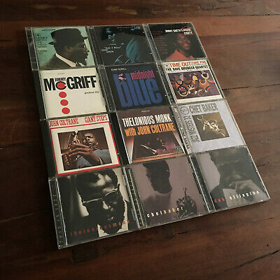 Jazz CD LOT, John Coltrane Miles Davis Thelonious Monk, Blue Note Verve Columbia