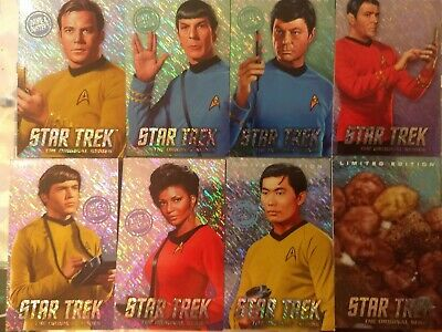 Dave and Busters The Original Series Star Trek Limited Edition Foil Arcade Cards