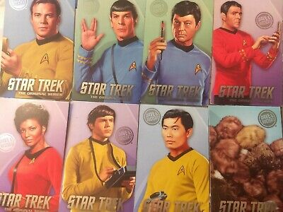 Dave and Buster's The Original Series Star Trek Non-Foil Arcade Card Singles