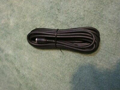 20/' 9-pin mini DIN to mini DIN MALE x MALE Black Extension Cable CyberPower NEW