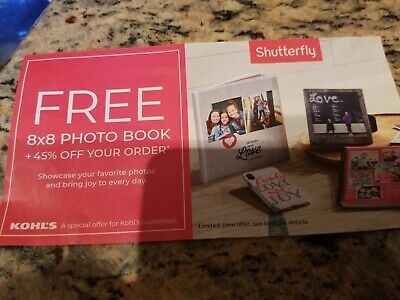 Shutterfly 5x8 Notebook  & 40% off everything code expires 11 30 2019