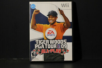 Tiger Woods PGA Tour 09: All-Play (Nintendo Wii, 2008) Used Game, Free Shipping!