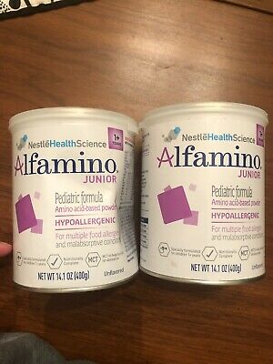 (2) Alfamino Junior Formula 14.1 oz Cans