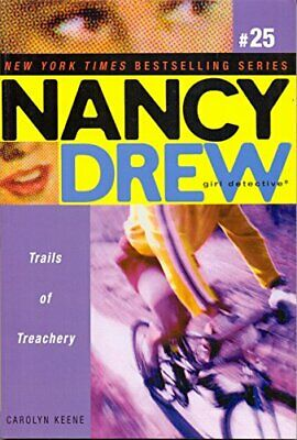 NEW - Trails of Treachery (Nancy Drew: Girl Detective, No. 25)