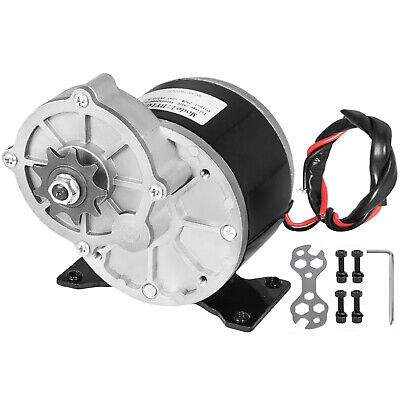 250W DC Electric Motor 24V 2700RPM Permanent Gear ratio 9.7:1 Bicycle