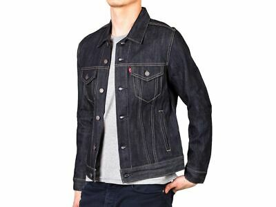 Levi's Men's Classic Original Trucker Denim Jean Jacket Navy Medium 72334-0023