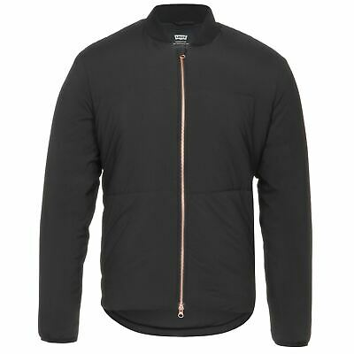 Levi's Men's Commuter Fill Bomber Jacket Temp Regulated 24858-0001 Jet Black