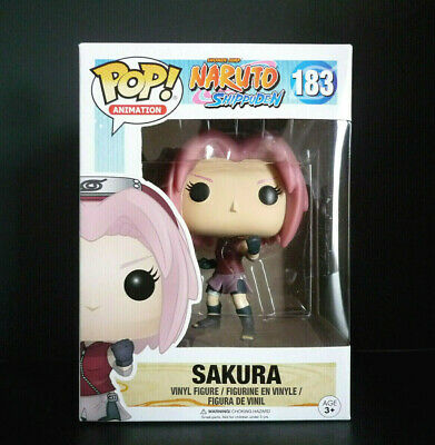 Funko Pop! Animation Naruto Shippuden Sakura #183 Vinyl Figure with Protector