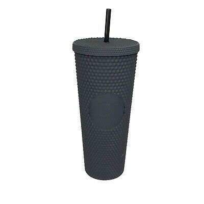 Starbucks Limited Edition Fall 2019 Matte Black Studded Tumbler 24oz In Hand