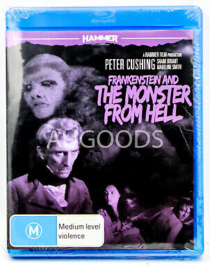 Frankenstein and The Monster From Hell - Bluray Disc MOVIE PAL DVD NEW SEALED