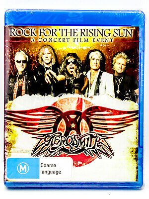 Aerosmith - Rock for the Rising Sun - Bluray Disc MOVIE PAL DVD NEW SEALED