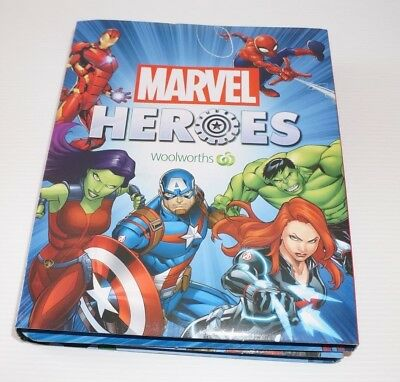 Marvel Heroes Super Disc Album Empty