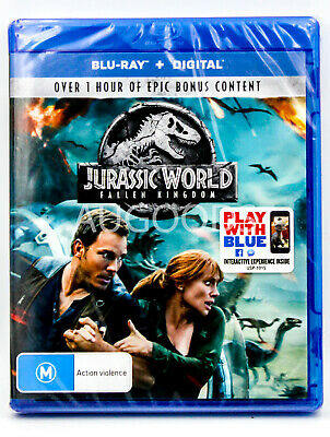 Jurassic World - Fallen Kingdom - Bluray Disc MOVIE PAL DVD NEW SEALED