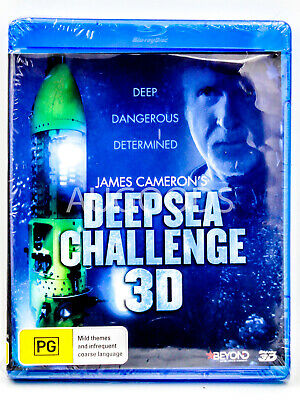 Deepsea Challenge 3D - Bluray Disc RARE FILM MOVIE PAL DVD NEW SEALED
