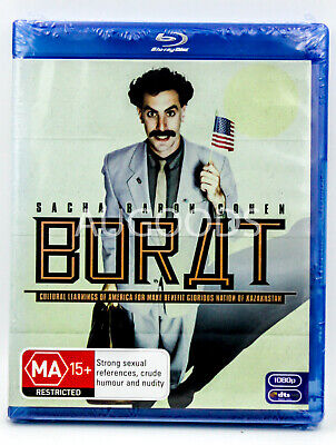 Borat - Bluray Disc RARE FILM MOVIE PAL DVD NEW SEALED AUSSIE STOCK