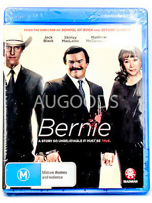 Bernie - Bluray Disc RARE FILM MOVIE PAL DVD NEW SEALED AUSSIE STOCK