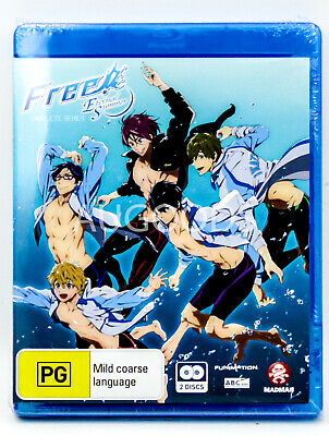 Free! Eternal Summer - Bluray Disc RARE FILM MOVIE PAL DVD NEW SEALED