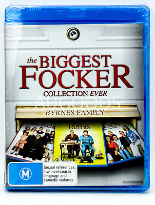 The Biggest Focker Collection Ever - Bluray Disc MOVIE PAL DVD NEW SEALED