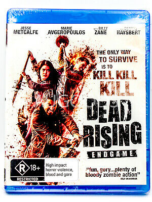 Dead Rising Endgame - Bluray Disc RARE FILM MOVIE PAL DVD NEW SEALED
