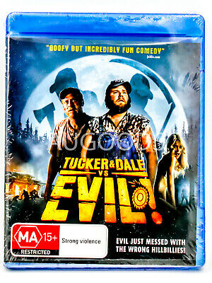 Tucker and Dale vs Evil - Bluray Disc RARE FILM MOVIE PAL DVD NEW SEALED