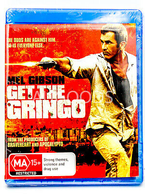 Mel Gibson - Get The Grind - Bluray Disc RARE FILM MOVIE PAL DVD NEW SEALED