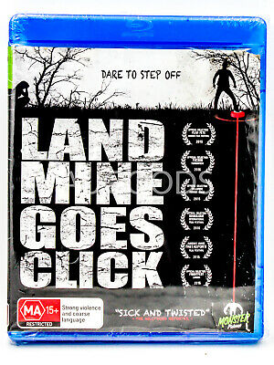 Land Mine Goes Click - bluray Disc RARE FILM MOVIE PAL DVD NEW SEALED