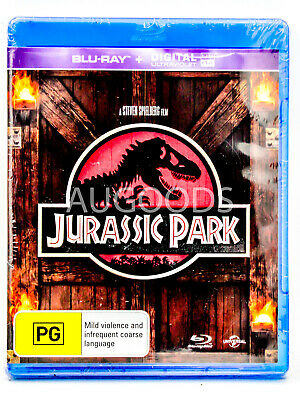 Jurassic Park - Bluray Disc RARE FILM MOVIE PAL DVD NEW SEALED AUSSIE STOCK