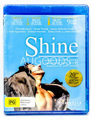 Shine - Bluray Disc RARE FILM MOVIE PAL DVD NEW SEALED AUSSIE STOCK