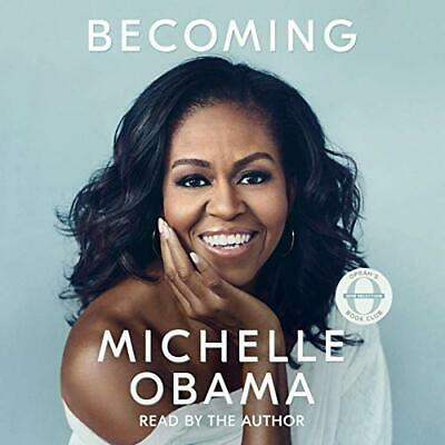 Becoming by Michelle Obama - Audible + Book FREE SHIPPING