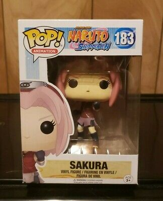 Funko Pop! Animation Naruto Shippuden Sakura #183 w/ Soft Pop Protector