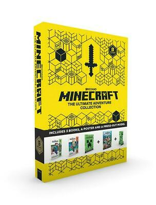 Minecraft: The Ultimate Adventure Collection by Mojang AB Paperback Book Free Sh