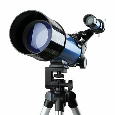 Monocular Astronomical Telescope With Tripod Refractor Spyglass Zoom High Power