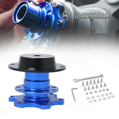 6.8cm Car Steering Wheel Quick Release Hub Adapter Snap Off Boss & Screws Wrench