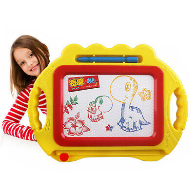 Drawing Pen Painting Writing Magnetic Doodle Mat Board Educational Kids Toy New