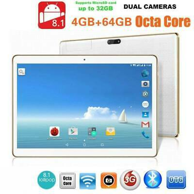10.1 Pollici 4+64gb Tablet Pc 2560*1600 Bluetooth Android8.1  Wifi 2 Sim 10Core
