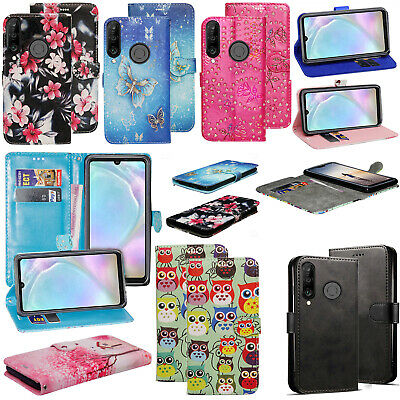 For Huawei Mate 30 Lite P30 P20 Y6 Y7 P Smart 2019 Leather Wallet Flip Case Covr